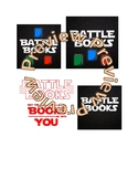 Battle of the Books - Star Wars Parody Logo - May the Book