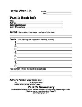 Battle of the Books Summary