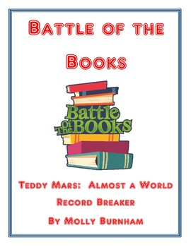 Battle of the Books: Teddy Mars: Almost a World Record Breaker by Molly Burnham