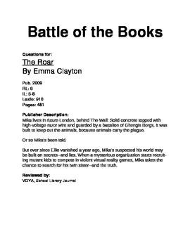 Battle of the Books - The Roar