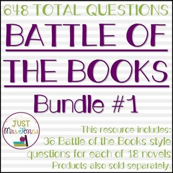 Battle of the Books Trivia Questions Bundle