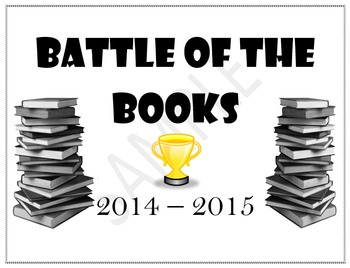 Battle of the Books - Yearlong Activity to Promote Independent Reading