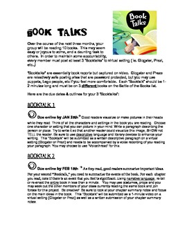 English Creative Book Report Ideas (Battle of the Books Project)
