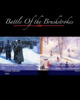 Battle of the Brushstrokes: America in Winter