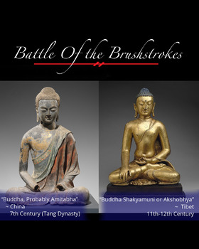 Battle of the Brushstrokes: Comparing Culture- Buddha