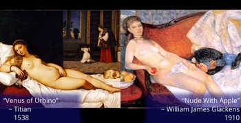 Battle of the Brushstrokes: Temptation and the Female Form