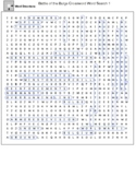 Battle of the Bulge Word Search