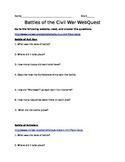 Battle of the Civil War WebQuest