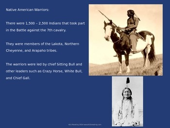 Battle of the Little Big Horn - Custer Sioux - Power Point History Facts Info