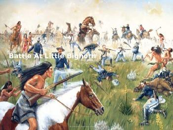 Battle of the Little Big Horn - Custer Sioux - Power Point
