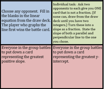 Battle of the Parallel and Perpendicular Lines
