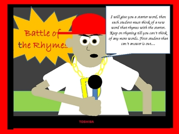 Battle of the Rhymes
