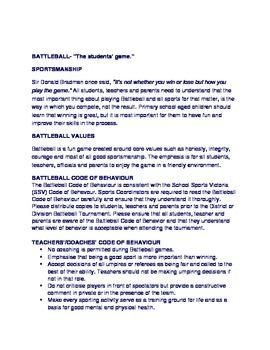 Battleball Rules Handbook