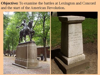 Battles of Lexington and Concord PowerPoint Presentation