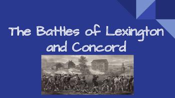 Battles of Lexington and Concord Presentation (PDF)