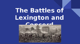 Battles of Lexington and Concord Presentation (PPT)