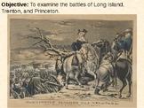 Battles of Long Island, Trenton and Princeton PowerPoint P