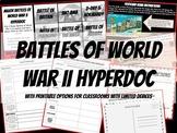 Battles of World War II Hyperdoc