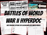 Battles of World War II Hyperdoc