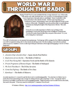 World War II Battles Radio Show Project