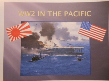 Battles of World War Two (WW2) - PPT's, Charts, Assignment, etc. (D-Day, etc.)