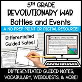 Battles of the American Revolution   Digital Activities