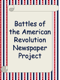 Battles of the American Revolution Newspaper Project