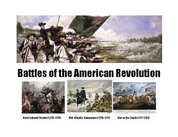 Battles of the American Revolution Outline