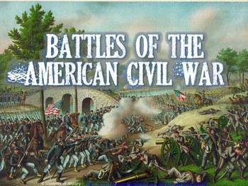 Battles of the Civil War Apple Keynote Presentation