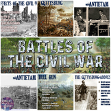 Civil War Battles PowerPoint and Guided Notes