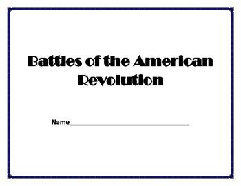 Battles of the Revolution Booklet