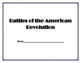 Battles of the Revolution Booklet