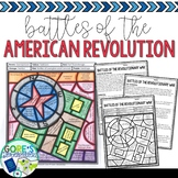 Battles of the American Revolution Activity