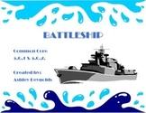 Common Core 5.G.1, 5.G.2 - Battleship