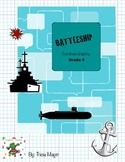 Battleship Coordinate Graphing