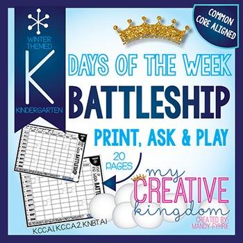 Battleship - Days of the Week Winter Edition 1