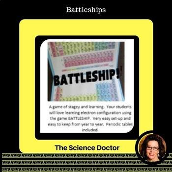 Battleship - Electron Configuration Game