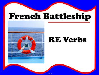 Battleship French RE Verbs