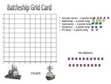 Battleship Game Coordinate Graphing Game