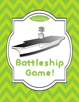 Battleship Game! NO PREP