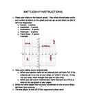 Battleship Graphing Points on Coordinate Plane Game