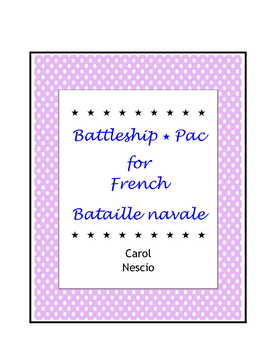 Battleship * Pac For French ~ Bataille navale