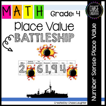 Battleship: Place Value Game {Math Center}