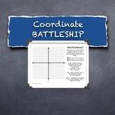 Battleship Plotting Points Coordinate Plane Math Competition Game