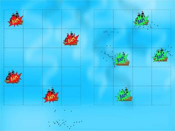 Battleship - Review Game Template - Power Point - Editable
