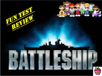 Battleship Review Game Template for Mimio