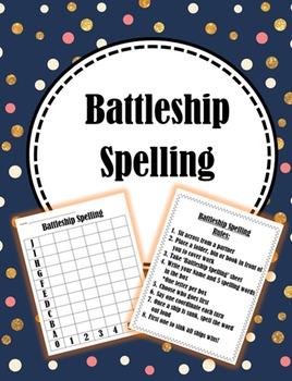 Battleship Spelling
