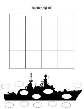Battleship Template