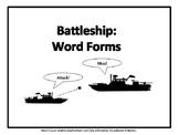 Battleship: Word Forms