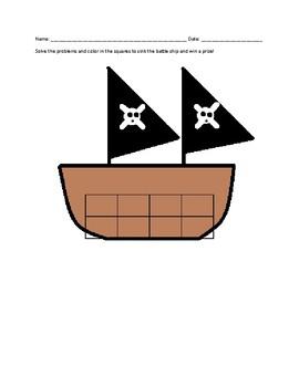 Battleship Word Problems Game